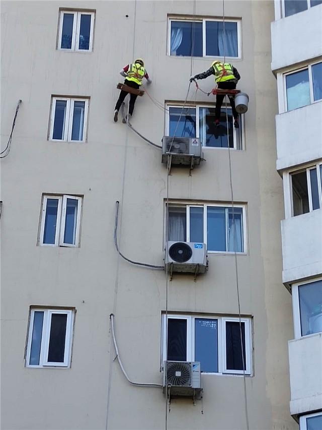 外墙漏水维修