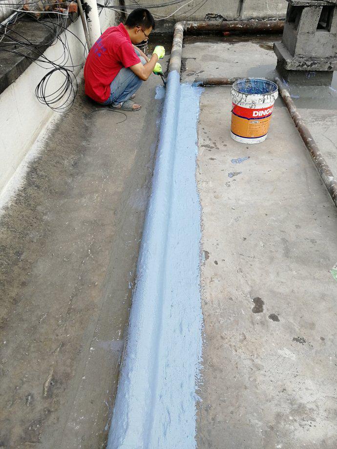 屋面防水维修管道处理