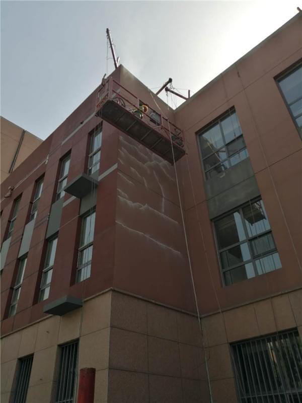 内蒙古大学外墙翻新图片
