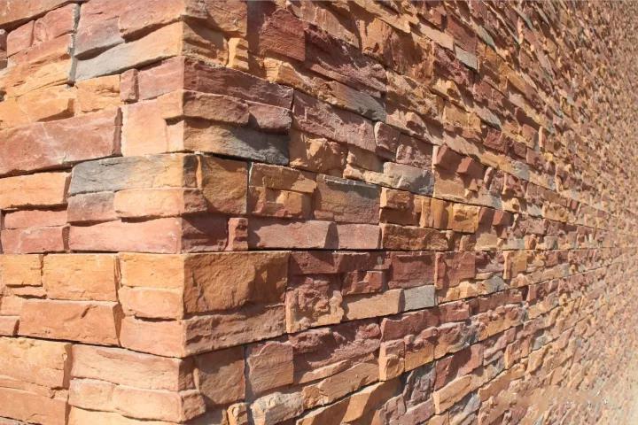 大自然文化石外墙装修效果图
