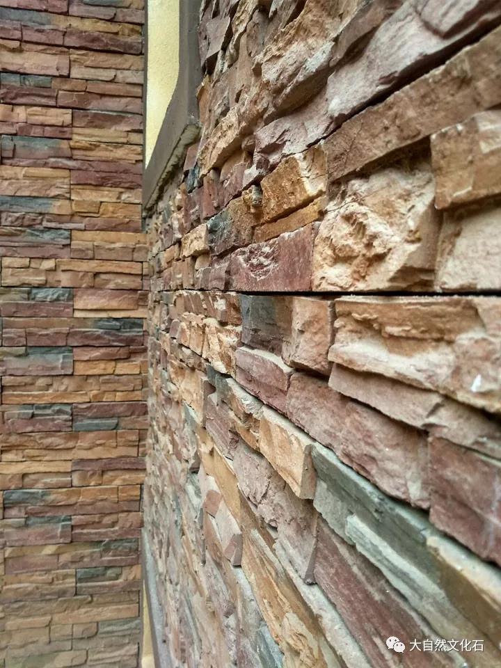 文化砖外墙装修细部效果图