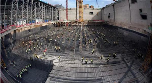 中国尊开工施工照片