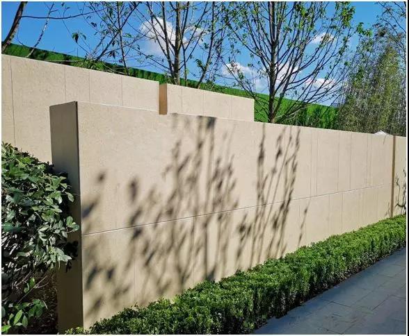 外墙样板石灰石涂料装修案例效果图