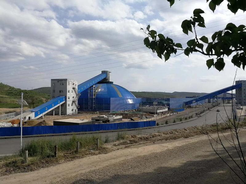 中铝能源煤矿污水处理厂LEAC材料防水防腐施工