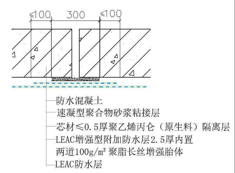 变形缝节点细部构造