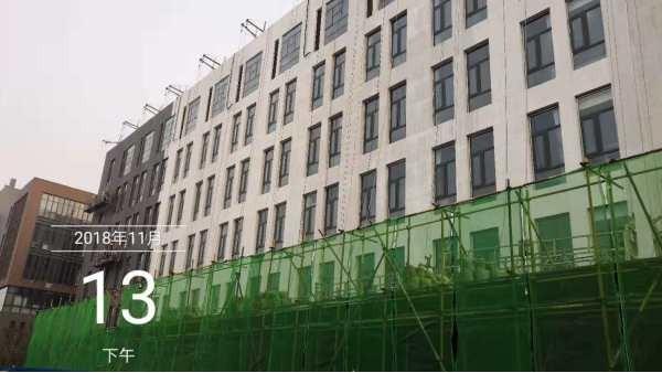 博赢建筑——马驹桥鸿坤智谷外墙维修工程项目案例