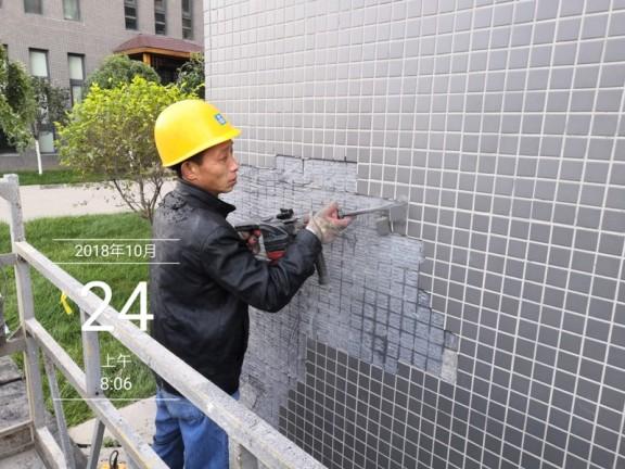 鸿坤外墙维修