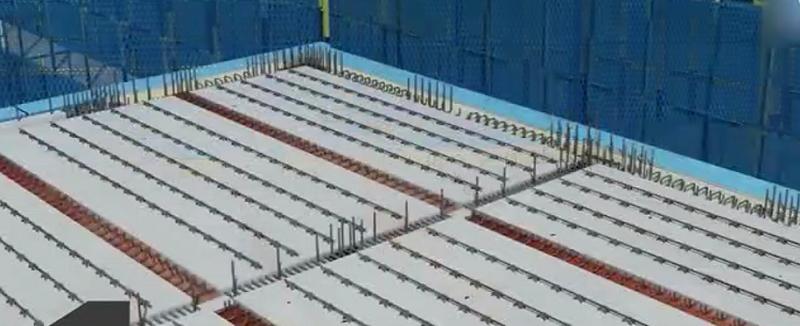 装配式楼板水平构件整体安装