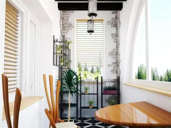 别墅改造翻新小户型阳台