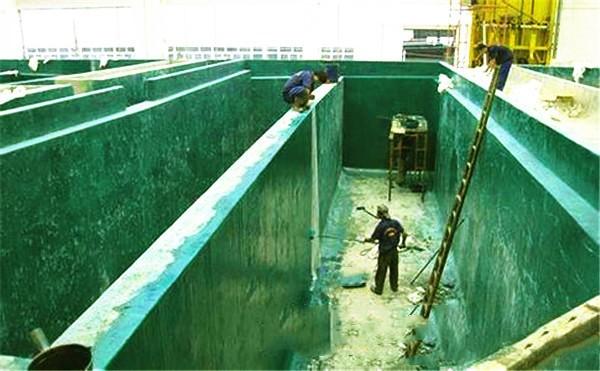 蓄水池防水施工