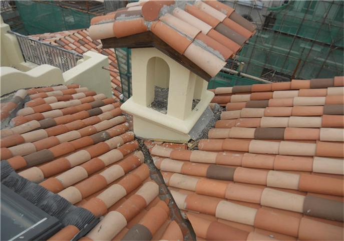 别墅屋面漏水维修