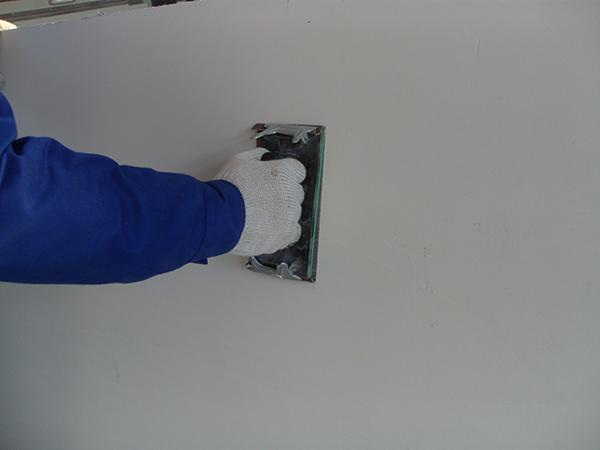 外墙涂料施工基层打砂纸