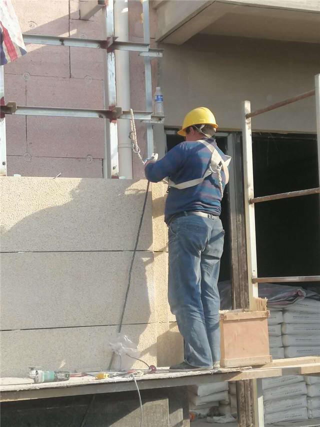 博赢建筑外墙干挂石材施工