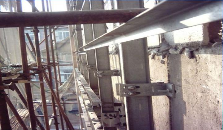 干挂石材主次龙骨安装施工