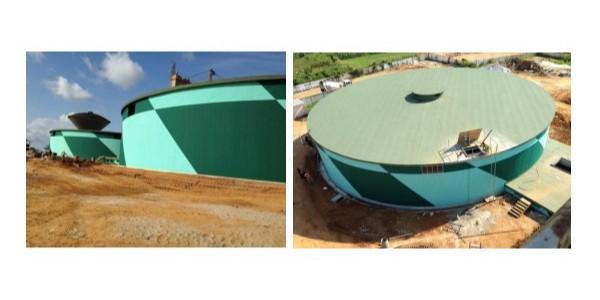 饮用水储水罐防水施工