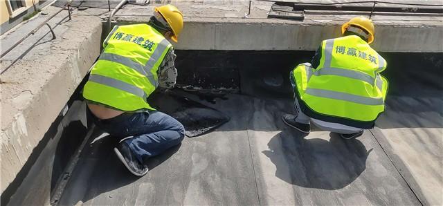屋面防水维修细节处理