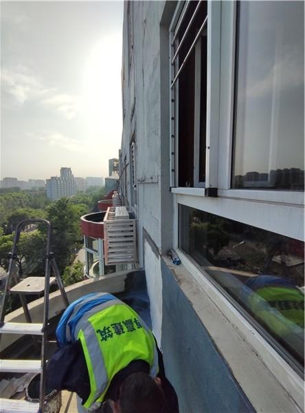 窗户质量问题引起的漏水