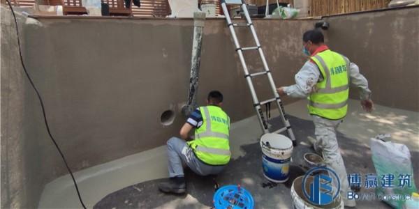 蓄水池渗漏水维修