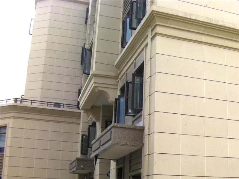 一体化板外墙装修细部效果图