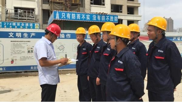 博赢建筑——任丘石油新城一期门头石材工程项目案例