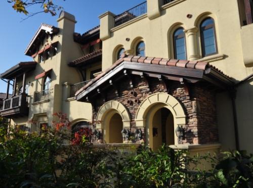 中海地产-红杉溪谷别墅室外装修
