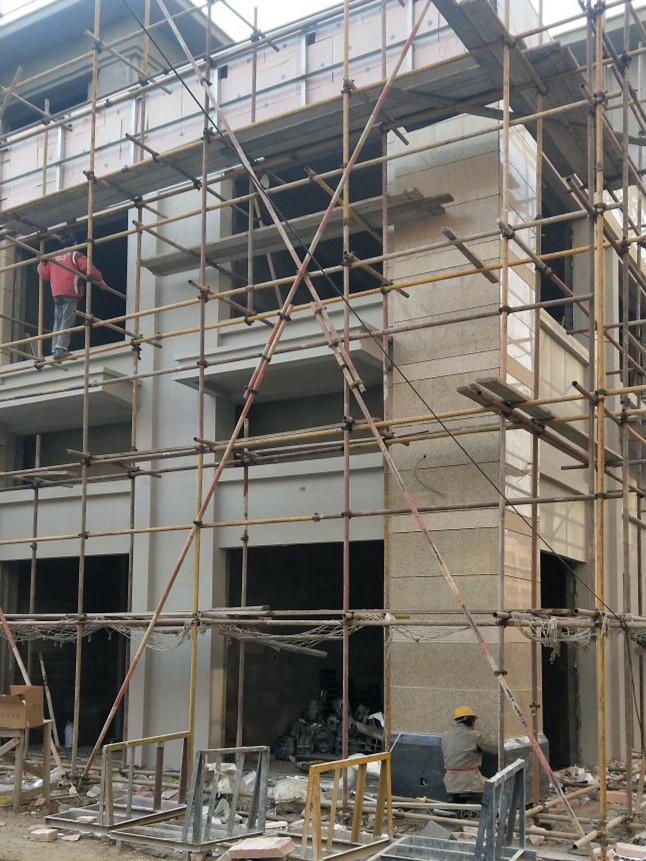 干挂石材外墙装修 (1)