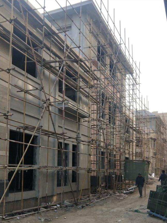 干挂石材外墙装修 (2)