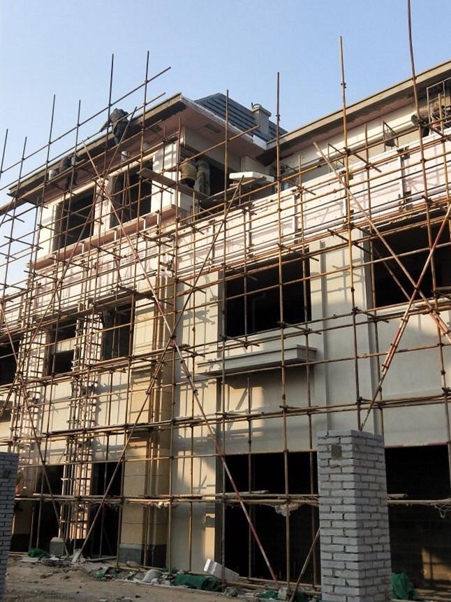干挂石材外墙装修 (3)