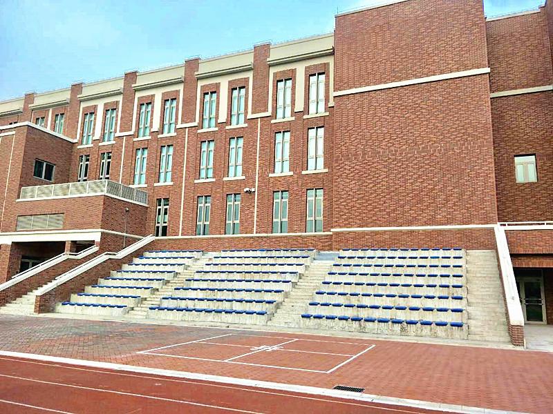 鼎石学校外墙劈开砖整体效果图