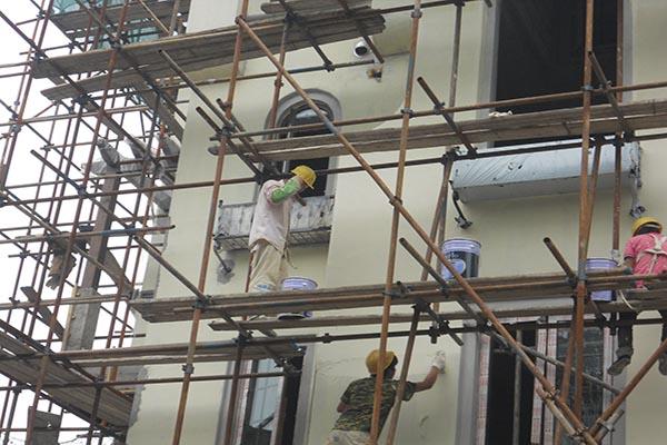 北京别墅改造翻新扩建加建公司施工中