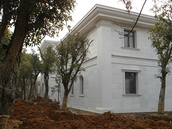 老别墅外墙石材翻新