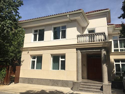 北京优山美地某别墅屋面维修