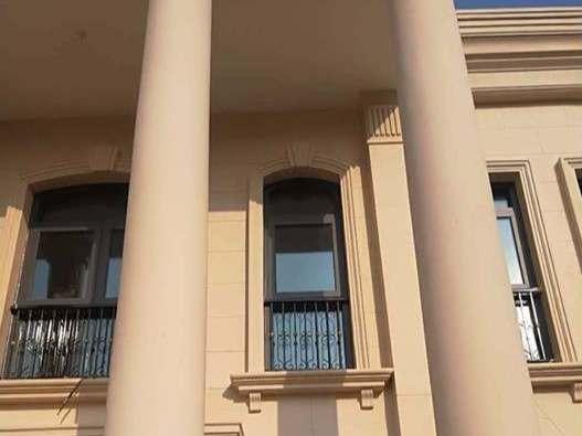 外墙仿石灰石涂料施工平米多少钱