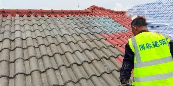 房顶防水材料施工