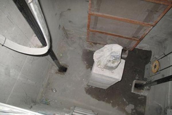 电梯井防水施工