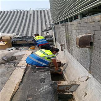 科技馆外墙防水施工