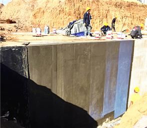 结构外墙防水