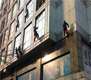 外墙玻璃窗户防水