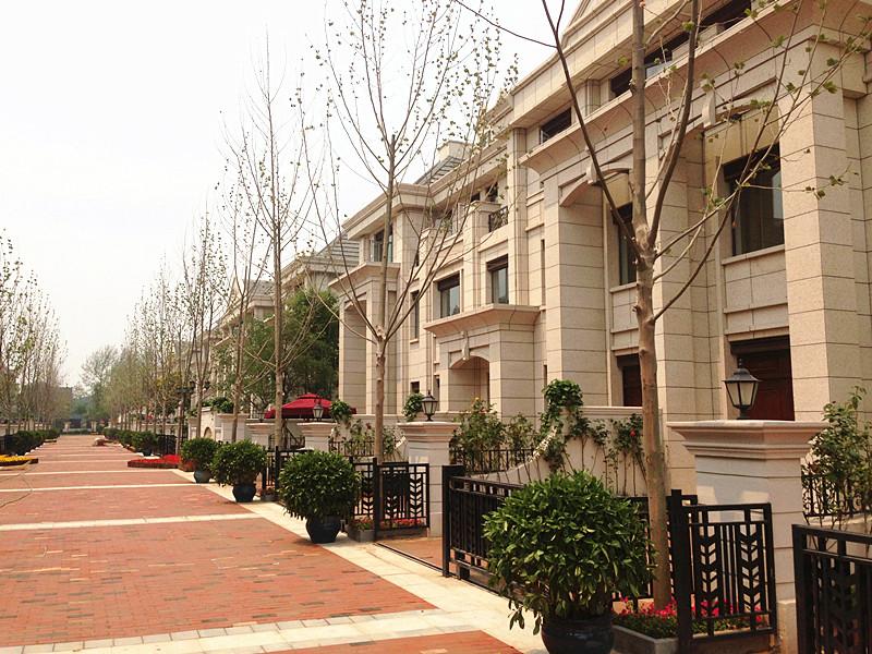 天津-真石漆-洋房-阳光新业-鹭岭景园施工案例