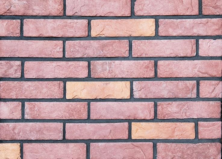 文化砖材料样板效果图
