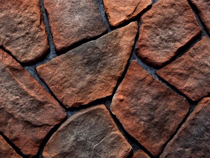 网贴文化石材料样板效果图