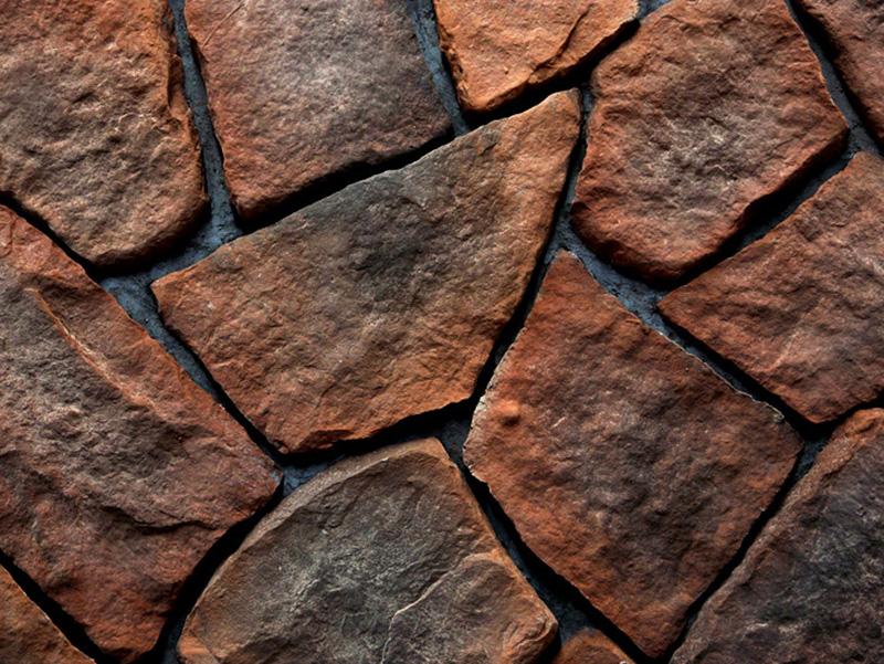 文化石材料样板效果图