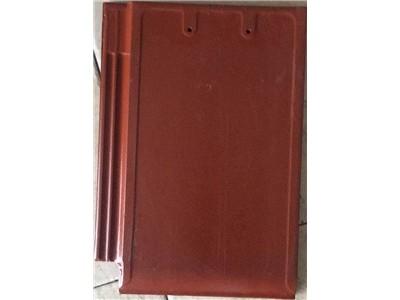 红色陶土屋面瓦样板效果图