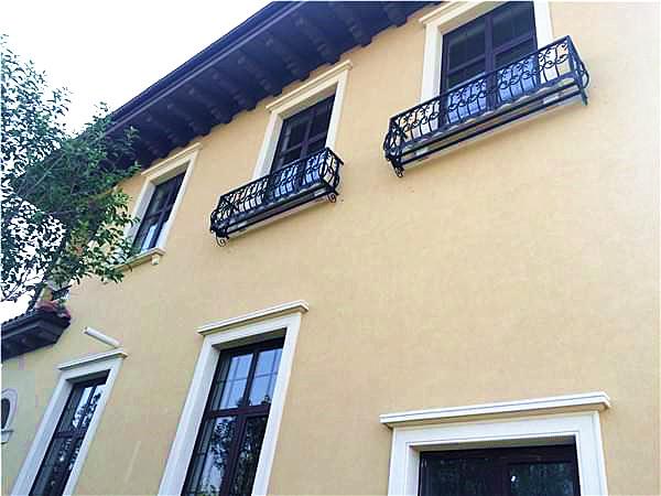 别墅外墙整体装修窗口细节处理