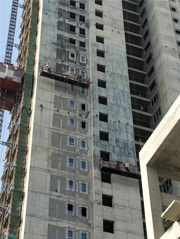 外墙装饰装修项目穿墙漏水洞眼封堵施工