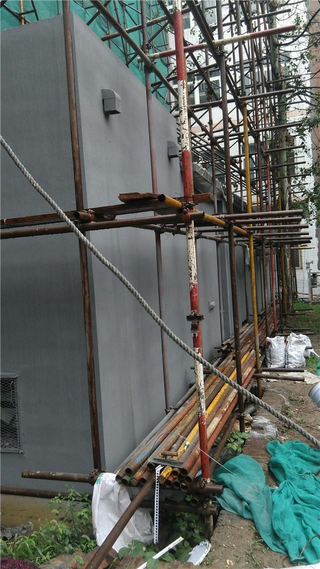 瓷砖翻新施工中