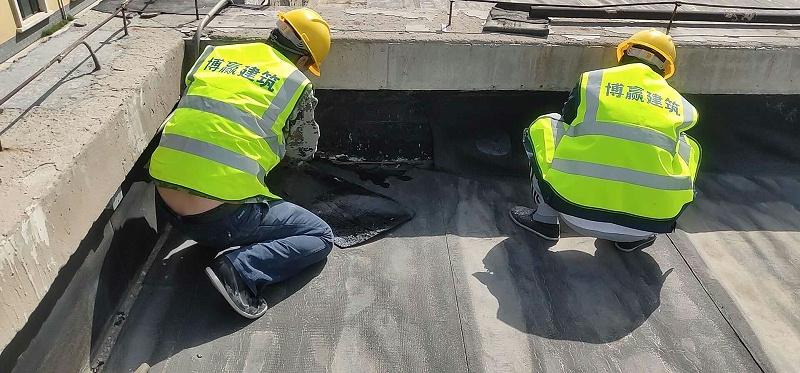 屋面防水维修清理加固