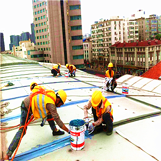 机器人展厅金属屋面防水
