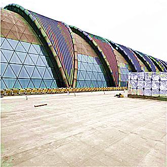 成都双流机场金属屋面防水