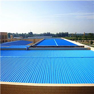 彩钢金属屋面防水施工